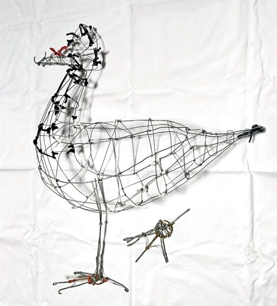 Magpie Goose frame - wire